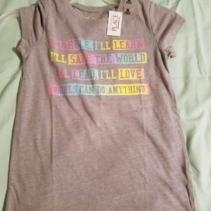 Children's Place Graphic Tee NWT Size M (7/8)